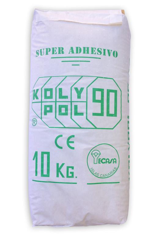 Kolypol-90, adhesivo a base de escayola