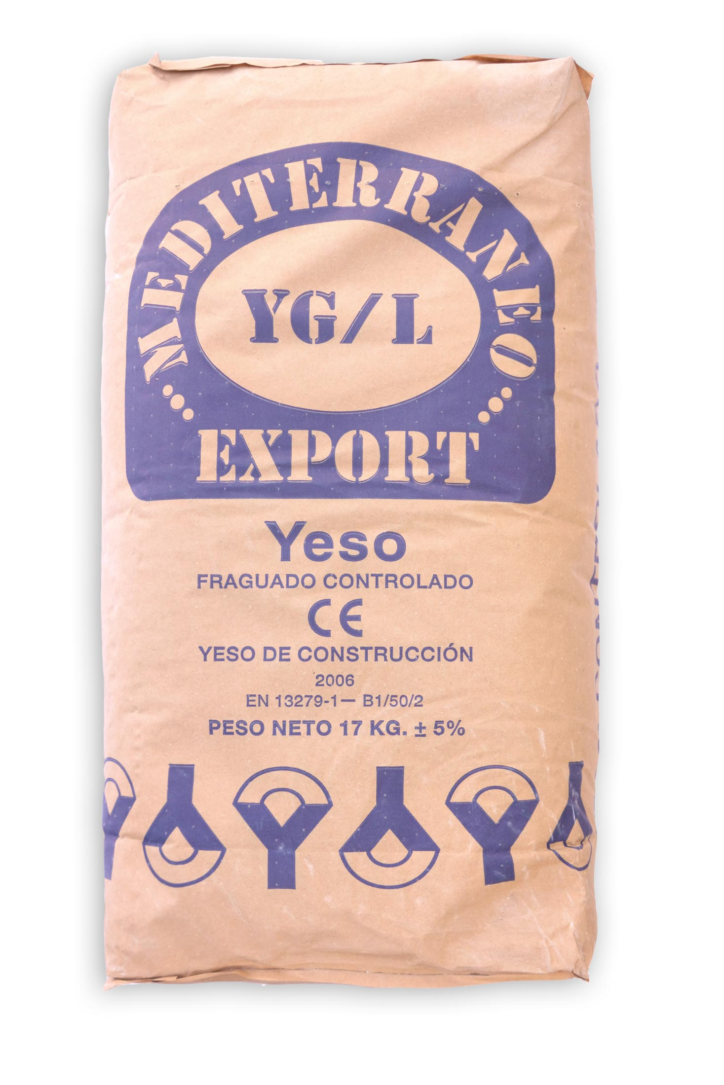 Yeso de fraguado controlado - Mediterráneo